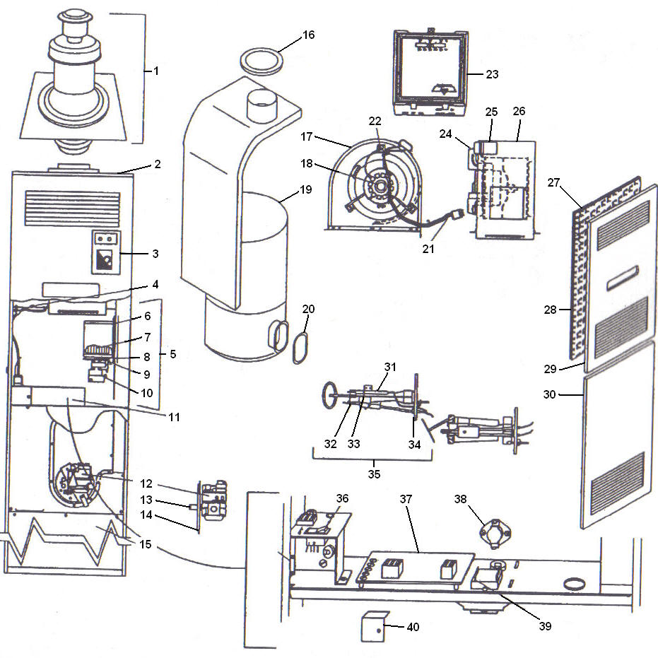 Miller Furnace Mobile Home Electrical Wiring Diagram together with Evcon Wiring Diagram likewise Coleman Evcon Presidential Electric Furnace Model Eb15b Blower Wiring Diagram additionally Coleman Evcon Blend Air 2 7681 318 besides Wiring Diagram For Coleman Electric Heater. on coleman evcon furnace manufactured home