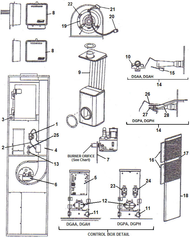 artwork428 dgaa090bdta [dgaa090bdta] $0 00 mobile home furnace & supply DGAA090BDTA Parts at bayanpartner.co