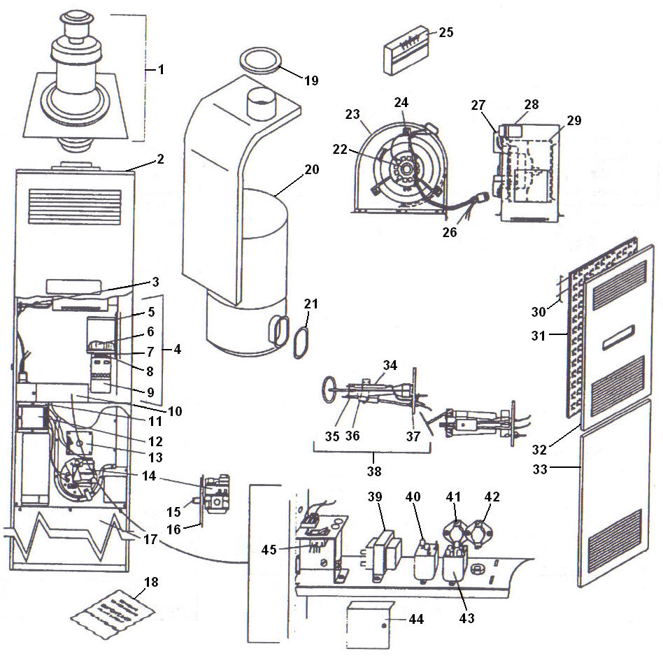 Dayton Heater Gas Valve Wiring Diagram on old honeywell thermostat wiring diagram